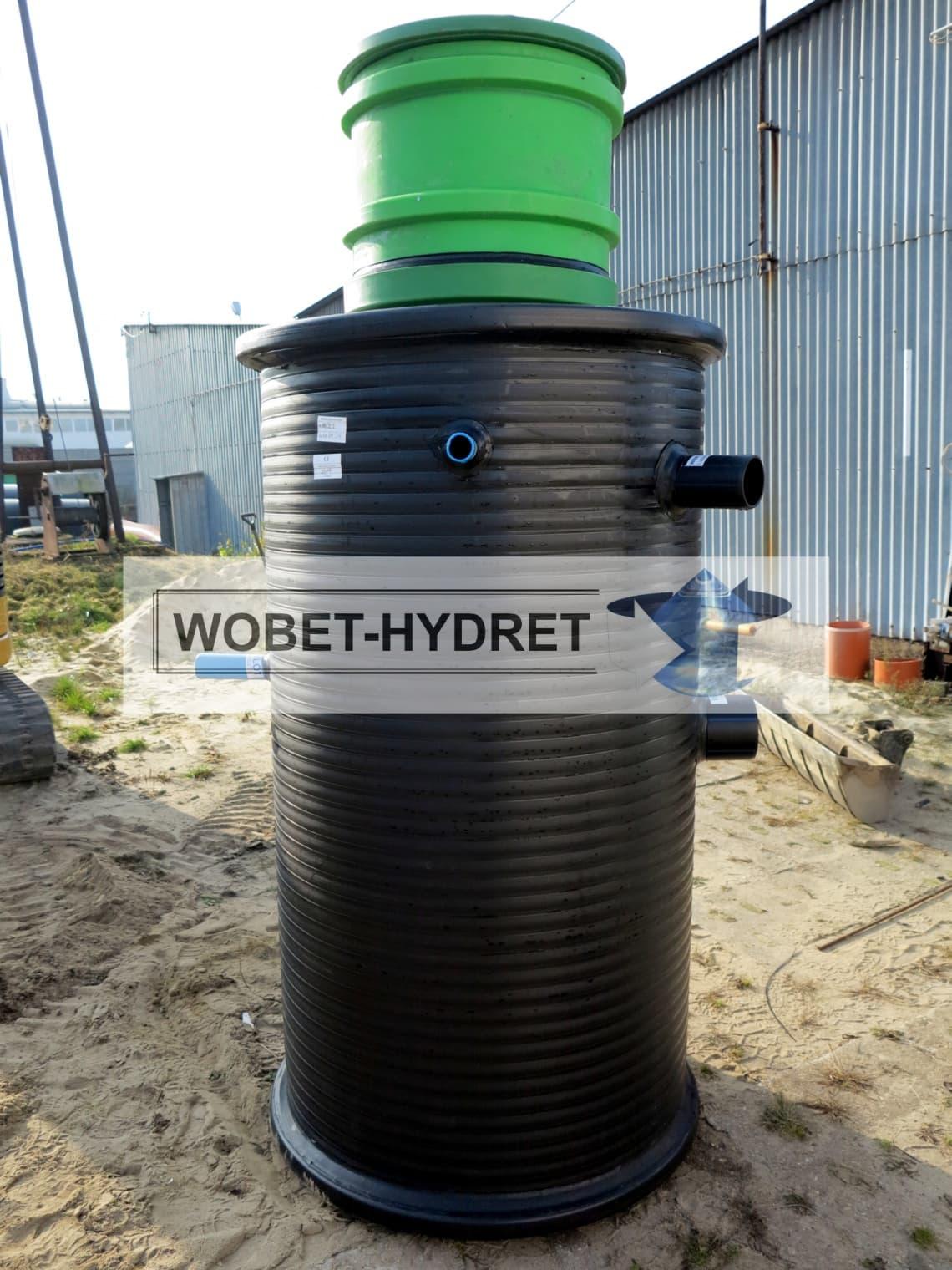 Przepompownie ścieków Wobet-Hydret