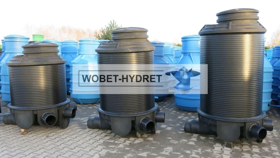 Studzienki kanalizacyjne Wobet-Hydret