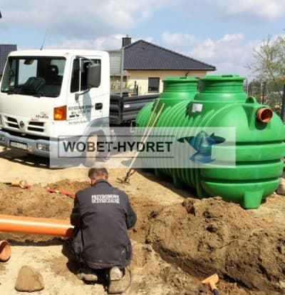 Oczyszczalnie drenażowe Wobet-Hydret